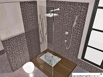 Lo spazio doccia