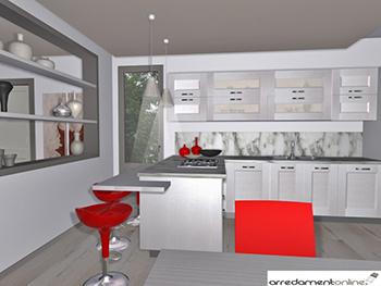 Disegno » Cucine Con Soggiorno - Ispirazioni Design dell ...