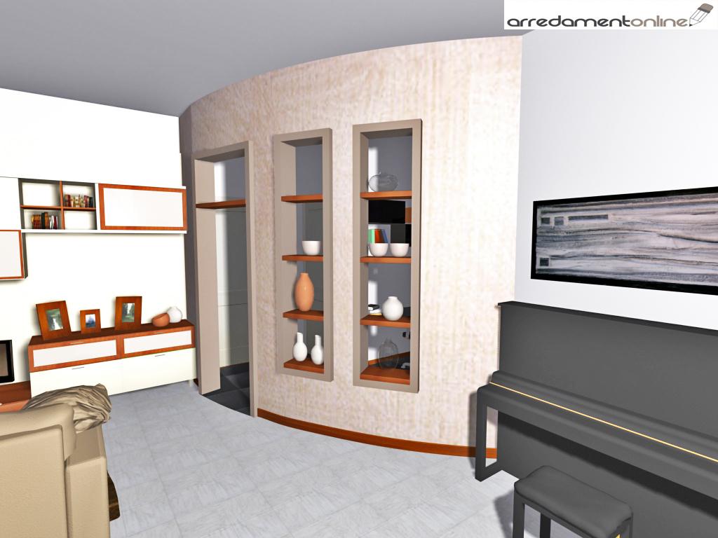 ricavare uno studio in un soggiorno(1° parte) - Zona Studio In Soggiorno