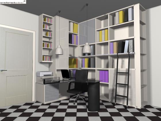 Ricavare uno studio in un soggiorno ( 2° parte)